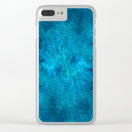 Telluric Monochrome V Clear iPhone Case