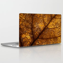 illuminated leaf Laptop & iPad Skin