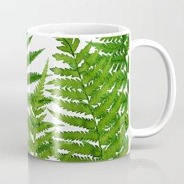 Summer Ferns Coffee Mug
