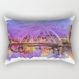 Glasgow Sunset Rectangular Pillow