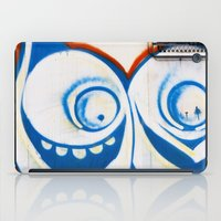 grafitti iPad Cases featuring Grafitti Face by Leslie Philipp