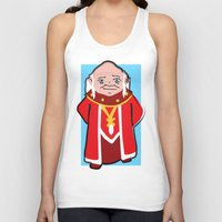 dungeons and dragons Tank Tops featuring DUNGEONS & DRAGONS - DUNGEON MASTER by Zorio