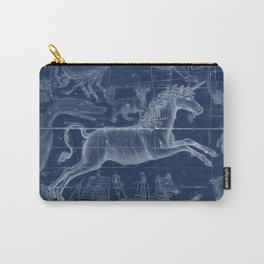 Unicorn stars sky map Carry-All Pouch