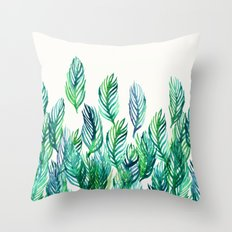 Jungle Rising  Throw Pillow