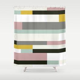 Lounge Retro Shower Curtain