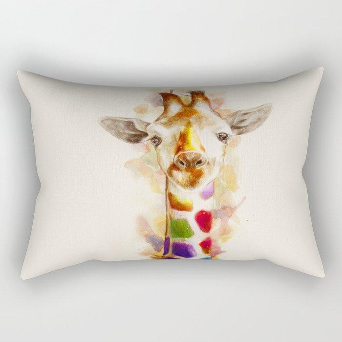 Colorful day Rectangular Pillow