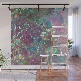 Iridescent Cellophane Wall Mural
