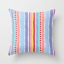 Candy madness Throw Pillow