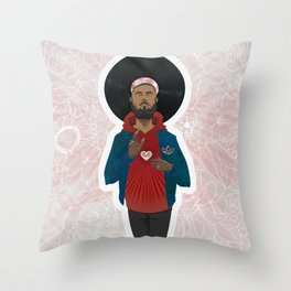 St. Paul & the Sacred Heartbeat Throw Pillow
