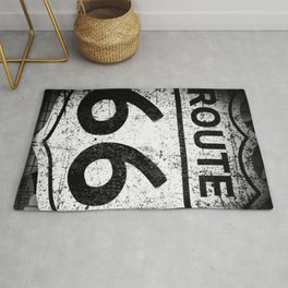 Route 66. Rug