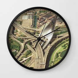 Spaghetti Junction Wall Clock