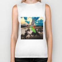parrot Biker Tanks featuring Parrot by Cs025