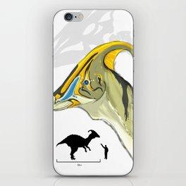 The Mighty Dinosaurs: #1 Parasaurolophus iPhone Skin