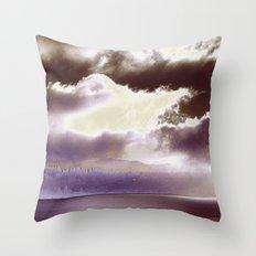 Sky Ring Throw Pillow