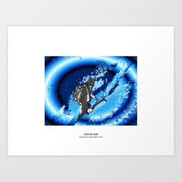 MOUNTAIN GLACIER TOUR VI Art Print