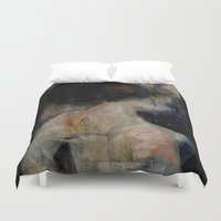 imagerybydianna Duvet Covers featuring apophrades by Imagery by dianna