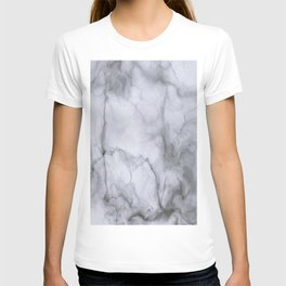 Marble Black and White T-shirt