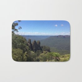 Blue Mountains and Three Sisters Bath Mat