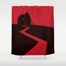 Alfred Hitchcock's Psycho Shower Curtain