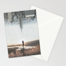 Between Earth & City Stationery Cards