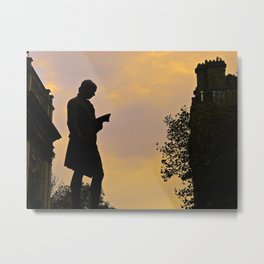 Trinity College Sunset Metal Print