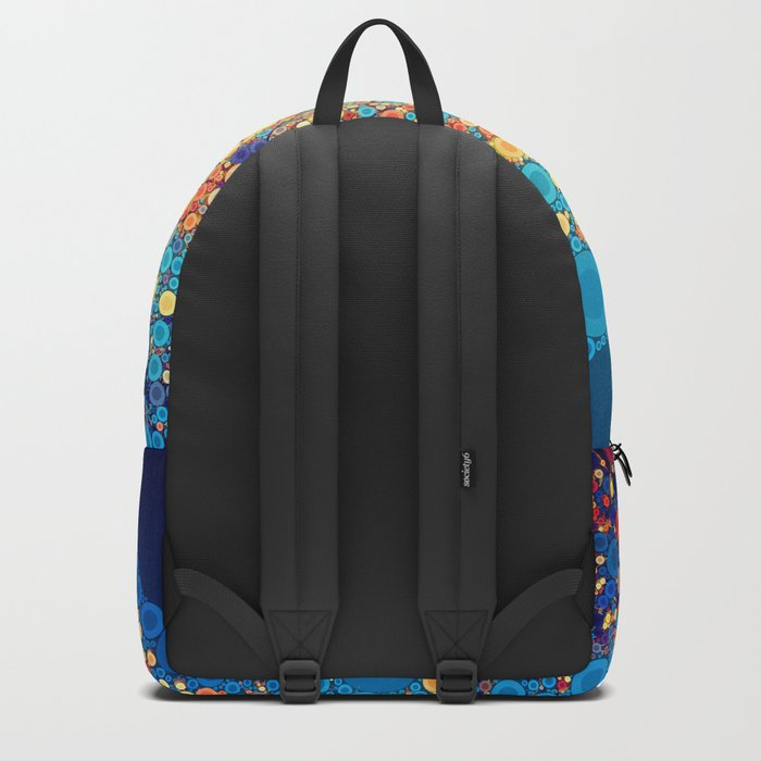 Sky and Leaves Backpack