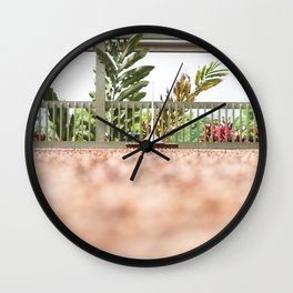 Coffee Plantation Wall Clock