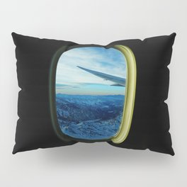 Cordillera de los Andes from a plane Pillow Sham