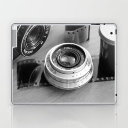 Accessories from old film cameras. Laptop & iPad Skin