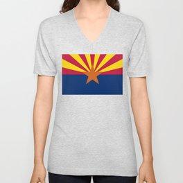 State flag of Arizona, Authentic HQ image Unisex V-Neck