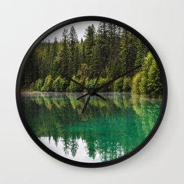 Fifth Lake, Jasper Wall Clock