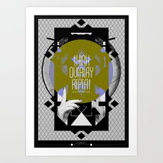 Think - Overlay - Repeat Art Print