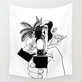 Light My Fire Wall Tapestry