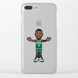 kyrieirving Boston Clear iPhone Case