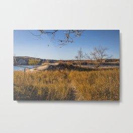 Downstream Campground, North Dakota 1 Metal Print