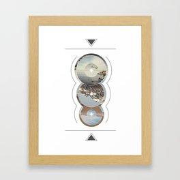 Crop Circle Framed Art Print