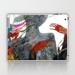 with my voice i'm calling you Laptop & iPad Skin