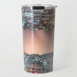 Hong Kong architecture Travel Mug