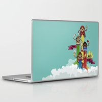 street fighter Laptop & iPad Skins featuring Street Fighter 25th Anniversary!!! by Ed Warner