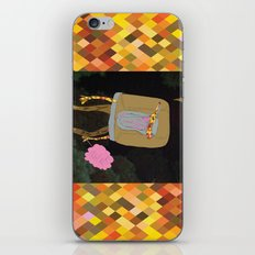Silence Walks iPhone & iPod Skin