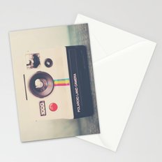 portrait of a polaroid ...  Stationery Cards