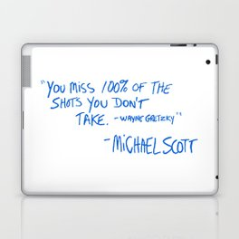The Office Quote Laptop & iPad Skin
