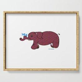 """Elephant"" Serving Tray"