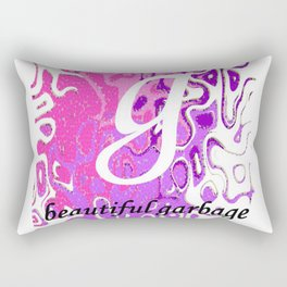 Beautiful Garbage Rectangular Pillow