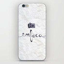 enfoca iPhone Skin