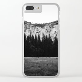 Yosemite Valley IV Clear iPhone Case