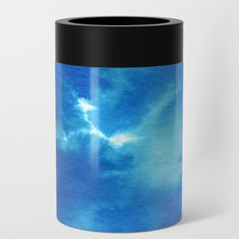 Blue Powder Can Cooler