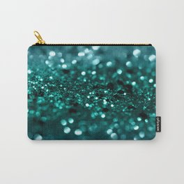 Sparkling OCEAN Glitter #1 #shiny #decor #art #society6 Carry-All Pouch