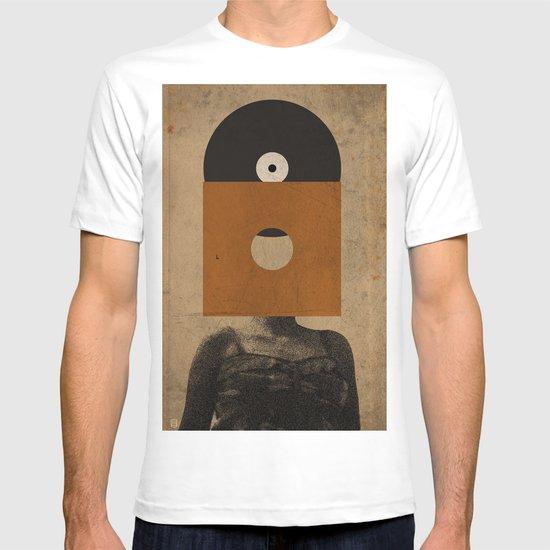VINYL RECORD HEAD T-shirt