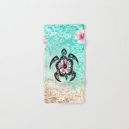 Hibiscus Turtle Hand & Bath Towel